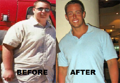 Dave Bostik Before and After weight loss image